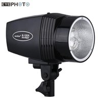 Wholesale Portrait Photography Flash - Wholesale-GODOX K-180A Mini Master 180W Studio Video Light Strobe Flash Light Lamp for Portrait Fashion Wedding Photography EU US Plug