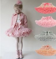 Wholesale Lace Skirts 3t - CanCanKids 2017 New Brand European&American Style Sweet Girls Princess TuTu Lace Party Ball Gown Pleated Skirt Mini Dress