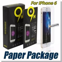Wholesale Iphone Front Glass Screen - For iPhone 8 Tempered Glass Screen Protector For Iphone 7S Iphone X Edition Film 0.33mm 2.5D 9H Anti-shatter Paper Package