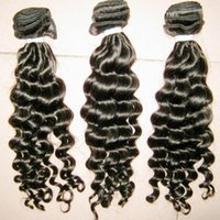 Wholesale Goddess Remy Hair - Goddess Gorgeous 300g Deep Curly virgin Malaysian Unprocessed Hair Extension Top 7A Jerry Curls Thick Hair Bundles DHgate