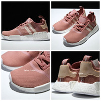 Wholesale Magic Boost - 2017 Wholesale Discount Cheap NMD Runner Primeknit Sales Magic Red NMD Runner Sports Shoes Men Woman NMD Running Boost Size 36-40