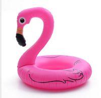 ingrosso anello gonfiabile animale-120 centimetri galleggiante divano acqua della piscina gonfiabile di nuotata animale anello di nuotata Flamingo nuoto materasso ad aria galleggiante piscina zattera per adulti