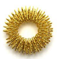 akupunktur fingermassage ring großhandel-Heißer Verkauf Finger Massage Ring Akupunktur Ring Gesundheitswesen Körper Massager