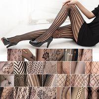moda naylon çorap toptan satış-Toptan-Moda Kadınlar Seksi Külotlu Çorap Bahar Naylon Tayt Ince çorap Tayt Sevgililer Şeffaf Çorap Elastiklik Dikişsiz Külotlu