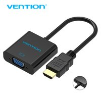 Vention HDMI zu VGA Adapter Digital zu Analog Audio Converter M / F Video Kabel für Xbox 360 PS3 PS4 PC Laptop TV Box zum Projektor