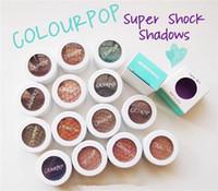 Wholesale Shock Luminous - New Colourpop Eye Shadow Super Shock Shadow Single Piece 18colors Makeup Eyeshadow Durable Waterproof Eye Shadow