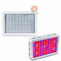 Alta Potencia 600W 800W 1000W Doble Chip Completo Espectro LED Crecer Kit Panel Luz Para Vegetales Veg AC 85-265V