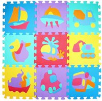 Wholesale Kids Soft Blocks - Baby Mat Soft EVA Foam Baby Children Kids Play Educational Mat Alphabet Number Puzzle Blocks Jigsaw