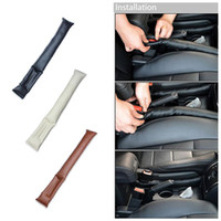 Wholesale auto hand cleaner - Car Seat Hand Brake Gap Holster Spacer Filler Padding Auto Cleaner Plug Stopper