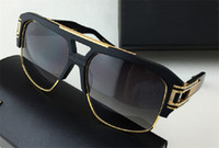 Wholesale Big Round Frame Sunglasses - new men brand sunglasses grandmaster four limited edition sunglasses goggles frame retro style big frame gold plated top quality