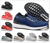 Wholesale Barefoot Trainers - New Ultra Boost Uncaged Running Shoes Runners Shoes Low Tops Men Barefoot Ultra Boost Cool Running Sport Trainer Walking Sneakers Size 36-45