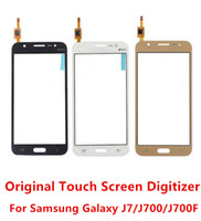Wholesale S4 Duos - Original Quality New Front Touch Screen Digitizer Replacement For Samsung Galaxy J7 J700 J700F j700f Duos