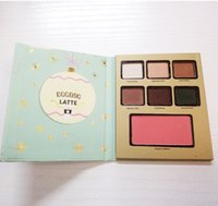 Wholesale Valentine Hotels - Too Cosmetics Eyeshadow Palette Grand Hotel Cafe Christmas Limited Eye Shadow Palette 3 Styles MOCHA LATTE COOKIE Faceed Valentine Gift