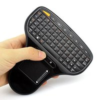 Wholesale Usb Sizes - N5903 Mini Palm-sized 2.4G Wireless Keyboard and Mouse Combo with Touchpad for PC Android TV BOX Smart TV