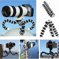 Wholesale Bracket Holder For Tripod - Camera Tripod Mini Tripod Flexible camera phone Octopus Bracket Holder Stand Mount for Cell Phone smart phone Samsung