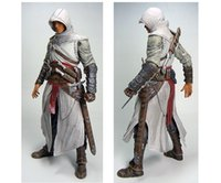 "Wholesale Assassins Creed Action Figure - NECA Assassins Creed 7"" Assassin's Creed 1 Altair Player PVC Action Figure Toy Free Shipping"