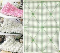 Wholesale Christmas Wreath Decorations Wholesale - Tile Frame Plastic Framework Flower Row Arch Skeleton Super Specification In The Wedding Party Flower Arrangement Decorated Wall 2 9xh H R