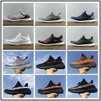 Wholesale Red High Shoes Men - 2017 Ultra boost 3.0 Triple Black Running Shoes Men Women High Quality Ultra Boost Hypebeast Primeknit Core Black White Athletic size36-45
