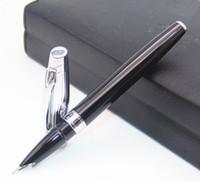 Wholesale Finest Arts - BAOER 100 Black And Sliver Retro-style Fine Nib Fountain Pen New Best Price Latest launch