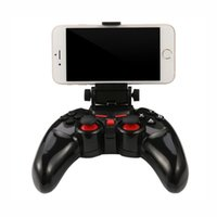 Wholesale android mtk tv resale online - DOBE Wireless Gamepad Joystick Bluetooth Controller for PC iPad iPhone Samsung Android iOS MTK phone Tablet PC TV BOX