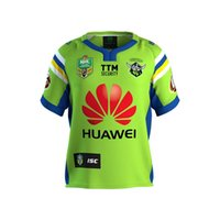 Wholesale Rugby Jersey Navy - Free ship!NRL National Rugby League Canberra 2017 new High-temperature heat transfer printing jersey Road navy color