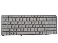 ingrosso tastiera mp-Nuova tastiera con cornice argento per SONY VGN-NW bianca MP-08J93US-8861 148738711