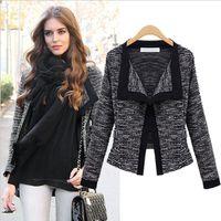 Wholesale Fashionable Woman Blazers - Fashionable woman jacket knitting cardigan cardigan coat Gather together women's clothing
