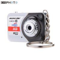 Wholesale Digital Card Pc - Wholesale-X6 Portable Ultra HD High Denifition Mini Digital Camera DV Support 32GB TF Card with Mic Mini Video Camcorders PC camera