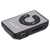 1gb mp3 musikspieler großhandel-Großhandels-Spiegel-Oberfläche Multicolor Mini Portable MP3-Player-Unterstützung Lagerung mit Kopfhörer USB-Kabel Portable MP3-Musik-Player