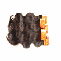 Wholesale Double Drawn Body Wave - Malaysian virgin hair 10 bundle 500g deals malaysian body wave 7a unprocessed malaysian virgin hair double drawn hair extension color1b