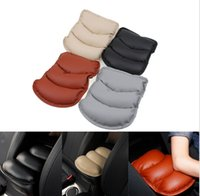 Wholesale High quality SUV Car Seat Armrest Box Mat Central Console Storage Cover Soft leather car accessories interior