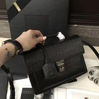 Wholesale Crocodile Luxury Bag - No.90 new fashion top quality women original luxury genuine leather handbag, women handbags fashion crocodile bags