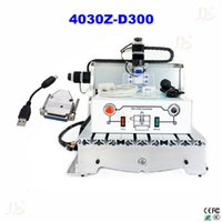 Wholesale Engraving Interface - ues adapter to usb interface mach 3 cnc machine CNC 4030Z-D300 Router Engraver Router Engraving Drilling and Milling Machine for wood