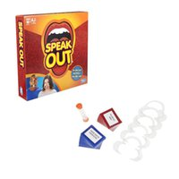 Wholesale New sealed Speak Out Game Interesting Family Party Speak Out Christmas toy Baby Toys for new year