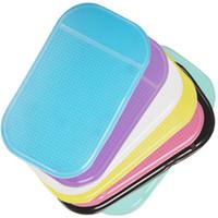 anti-rutsch-pad für gps großhandel-Multifunktions-Auto-Antibelegauflage Handy-Regal-klebrige Gummiantislip-Matte für GPS MP3 IPhone-Handy-Halter CDE_105