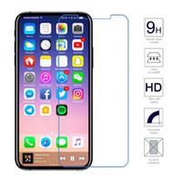 Wholesale Iphone New Front Screen - New Arrival For iPhone X 8 7 6 5  Plus Tempered Glass Screen Protector 0.33mm 2.5D 9H Anti-shatter with Retail Pack
