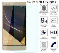 Wholesale Glass Nova - For Huawei P10 P10 PLUS LITE P8 LITE 2017 V9 Nova plus enjoy 6s P9 Lite 2.5D tempered glass screen protector anti-shatter