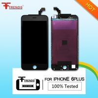 Wholesale Replace Lcd Screen - High Quality Black White Replace LCD Display+Touch Digitizer Screen Assembly For iPhone 6 Plus 5.5