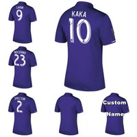Wholesale Man City Soccer Jerseys - NEW ORLANDO CITY Home purple Soccer Jersey 2017 2018 KAKA SHEA LARIN NOCERINO away 17 18 Football Shirt men soccer uniform 2017