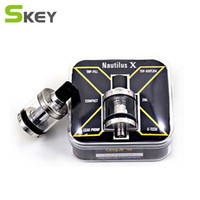 Wholesale 1.8 atomizer for sale - Group buy Aspire Nautilus X Tank ml Capacity Top Refilling with U Tech Coils System Nautilus X Atomizer Coil ohm ohm