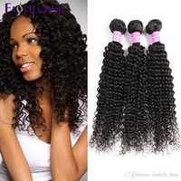 Vente en gros Fastyle Brazilian Kinky Deep Curly 5pcs / lot De qualité supérieure Péruvienne Malaysian Indian Virgin HumanHair Extensions Bundles Unprocessed