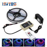 6803 IC Magic Dream Couleur RGB LED Strip 5050 30LED / m Chasing Lights + 133 Programme RF Magic Controller + Adaptateur secteur