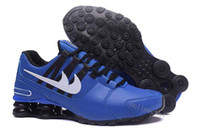 Mesh outlets online - Shox Avenue Air Cushion Breathable Running Shoes for Men colors NZ Mens Trainers Sneakers Shoes Sport Shox Outlet Online