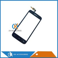 Wholesale Alcatel Parts - 20PC  Lot Replacement For Alcatel OT5042 Touch Screen Display Digitizer Panel Repair Parts Black color