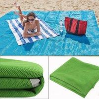 Wholesale Car Camping Mattress - new Outdoor Camping Beach Mat Lightweight Foldable Picnic Blanket Sandless Garden Rug Waterproof Sand Free Mattress Summer