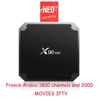 Caja IPTV Neo PROX96 MINI android MAG250 VLC M3U Smart tv Enigma2 caja xiaomi MI tv box V88 mxqpro