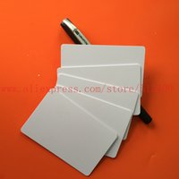 Wholesale Printer Card Tray - Wholesale- 125Khz rfid EM4100 Chip Printable Blank ID Inkjet Card for Epson  Canon Printer with Card Tray