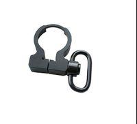 быстроходная подвеска оптовых-Быстро отсоединить QD Концевая пластина поворотный зажим на одной точке слинг буфера трубки адаптер крепление для охоты .223/5.56 карабинов AR15 M4