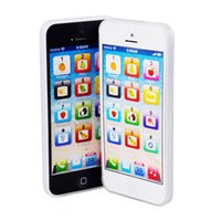 Wholesale Toy Learning Mobile - Multifunctional TOY Phone 5S English Learning ABC Mobile Phone Toy Puzzle Simulation Toy