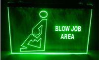 Wholesale Green Jobs - blow job area Bar Beer pub club 3d signs LED Neon Sign home decor crafts